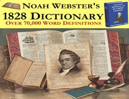 Noah Webster 1828